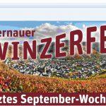 a Banner Winzerfest. letztes Wochenende