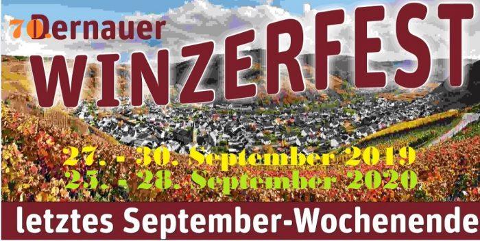 x GGV Banner Winzerfest 70.Winzerfest2020